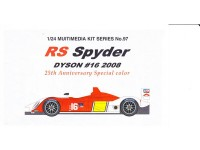 STU27FK2497 Porsche RS-spider #16  Memorial livery Multimedia Kit