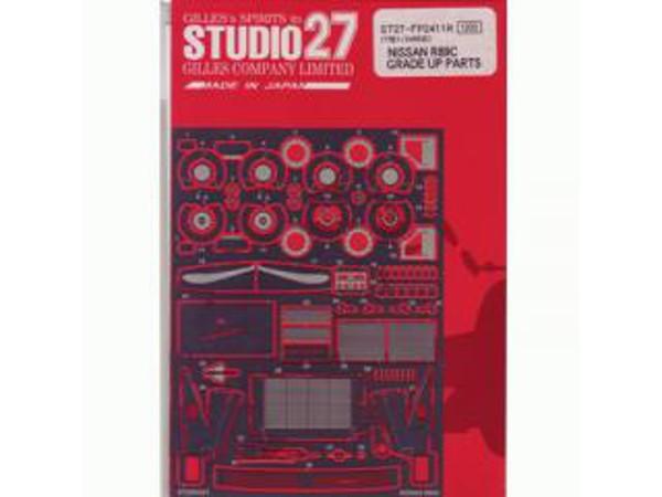 STU27FP2411 Nissan R89C  grade up parts Etched metal Accessoires