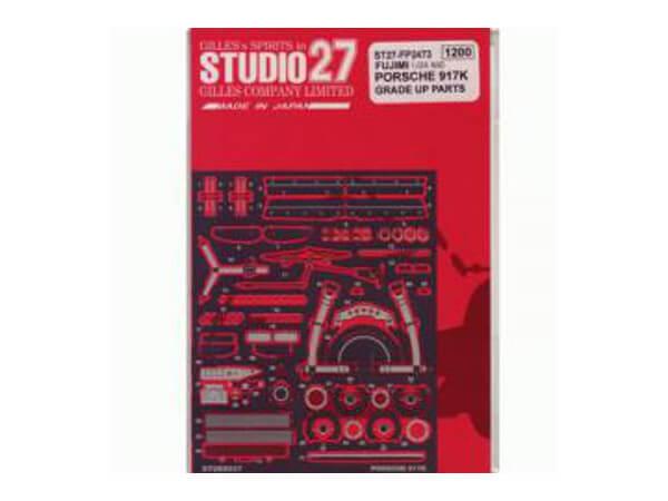 STU27FP2473 Porsche 917K  upgrade parts Etched metal Accessoires