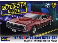 REVUS85-4377 67 Nickey Camaro RS/SS  427 Plastic Kit