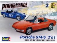 REVUS85-4378 Porsche 914/6  2'n1 Plastic Kit