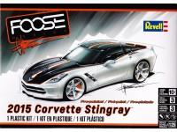 "REVUS85-4397 2015 Corvette Stingray  ""FOOSE Design"" Plastic Kit"
