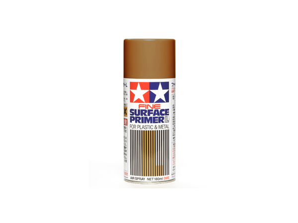 TAM87160 Tamiya fine surface primer Rust (oxide red) 180 ml Paint Material