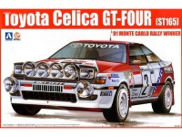 BEE24002 Toyota Celica GT-Four ST165 1991 Monte Carlo Plastic Kit