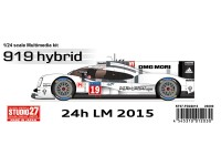 STU27FD24012 Porsche 919 Hybrid  #19  LM winner 2015 Multimedia Kit