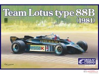 EBR20010 Team Lotus type 88B  1981 Plastic Kit