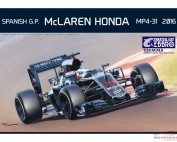 EBR20018 Mclaren Honda MP4/31 2016  Vandoorne decal icl Plastic Kit