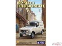 EBR25003 Renault R4 Fourgonnette Plastic Kit