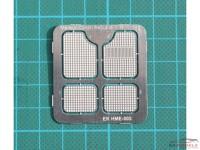 HME003 Floor mat set Etched metal Accessoires