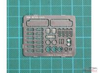 HME009 Interior detail set Etched metal Accessoires