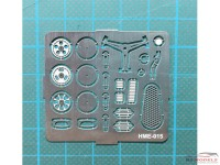 HME015 VW Beetle detail set 1 Etched metal Accessoires