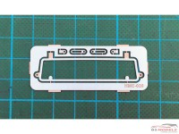 HME020 VW Type 2 pickup safari rear window Etched metal Accessoires