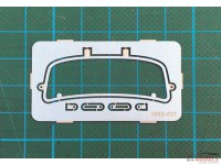 HME021 VW Beetle Safari style windscreen Etched metal Accessoires