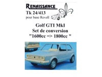 TK24-413 VW Golf GTI  MK1 transkit 1600cc  to 1800cc  for Revell Multimedia Transkit