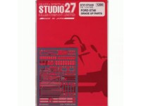 STU27FP2439 Ford GT40  photoetched parts  (For Fujimi) Etched metal Accessoires