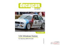 DCLMSK001 BMW M3 E30  window paint masks Multimedia Decal