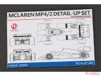 HD020322 Mclaren MP4/2  PE set  British GP '84  (for Beemax) Multimedia Accessoires