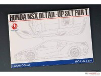 HD020349 Honda NSX  PE+resin  (for Tamiya) Multimedia Accessoires