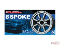 AOS05248 RS Watanabe 8 spoke - 16 inch Plastic Accessoires