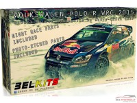 BEL010 VW Polo WRC 2015 - Monte Carlo - Ogier/Latvala Plastic Kit