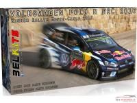 BEL011 VW Polo WRC 2016 - Monte Carlo - Ogier/Latvala/Mikkelsen Plastic Kit