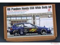 HD030506 RB Pandem Honda EG6 WideBody kit  - FOR Has Honda EG-6 civic Multimedia Transkit