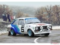 ITA3655s Ford Escort RS1800  Mk.II - Rally Monte Carlo 1979 Plastic Kit