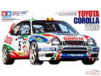 TAM24209 Toyota Corolla WRC Plastic Kit