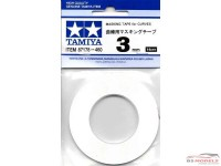 TAM87178 Tamiya masking tape for curves 3 mm Multimedia Material