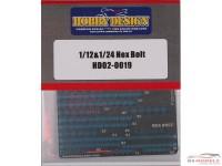 HD020019 Hex Bolt Etched metal Accessoires