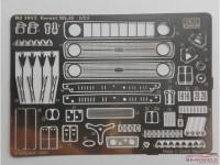 REJI1012 Ford Escort MK.II  PE set Etched metal Accessoires