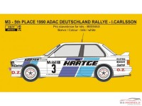 REJI265 BMW M3 - ADAC Deutschland rally 1990 - Hartge - Carlsson/Carlsson Waterslide decal Decal