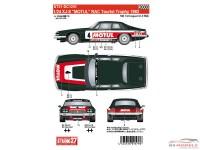 STU27DC1201 Jaguar XJ-S  MOTUL   RAC Toursit Trophy 1982   (for HAS) Waterslide decal Decal