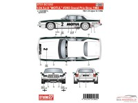 STU27DC1202 Jaguar XJ-S  MOTUL  GP  Brno 1983  (for HAS) Waterslide decal Decal