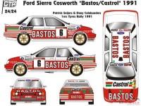 "CTR2424 Ford Sierra Cosworth  ""Bastos""  Ypres / Cevennes 1991 Multimedia Kit"