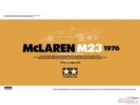 TAM20062 Mclaren M23 Plastic Kit