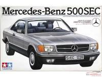 TAM24029 Mercedes-Benz  500 SEC Plastic Kit