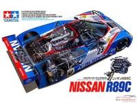 TAM24093 Nissan R89 C + suprise decal Plastic Kit