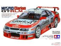TAM24161 Nissan Skyline GTR R-34  Clarion #23   LM1995  +PE set Plastic Kit