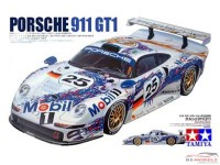TAM24186 Porsche 911 GT1  + ST27 From A decal Plastic Kit