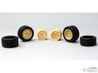 24PLSR5T PLS wheels + tyres TB15  (R5 Turbo) Resin Accessoires