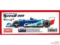 "STU27FK20280 Tyrrell 009 ""Candy"" 1979 Pironi/Jarier/Lees/Daly Multimedia Kit"