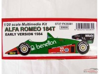 STU27FK20281 Alfa Romeo 184T early version 1984   Patrese Multimedia Kit