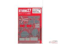 STU27FP2413R Mazda 787B P/E upgrade parts Etched metal Accessoires