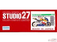 STU27TK1212C Repsol Honda RC211V  Transkit Moto GP '03  Rossi / Hayden Multimedia Transkit