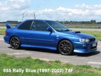 ZP1041-1 Subaru 555 rally Blue (1997-2002) 74F paint 60 ml Paint Material