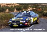 ZP1041-2 Subaru 555 Rally Monte Carlo blue (1994-1996) 53C paint 60 ml Paint Material