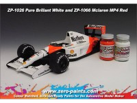 ZP1066 Mclaren MP4 (Marlboro) Red paint 60 ml Paint Material