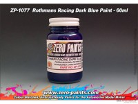 ZP1077 Rothmans Racing Dark Blue (Porsche/Honda)  paint 60 ml Paint Material