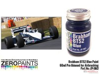 ZP1163 Brabham BT52  Blue  paint  60 ml Paint Material